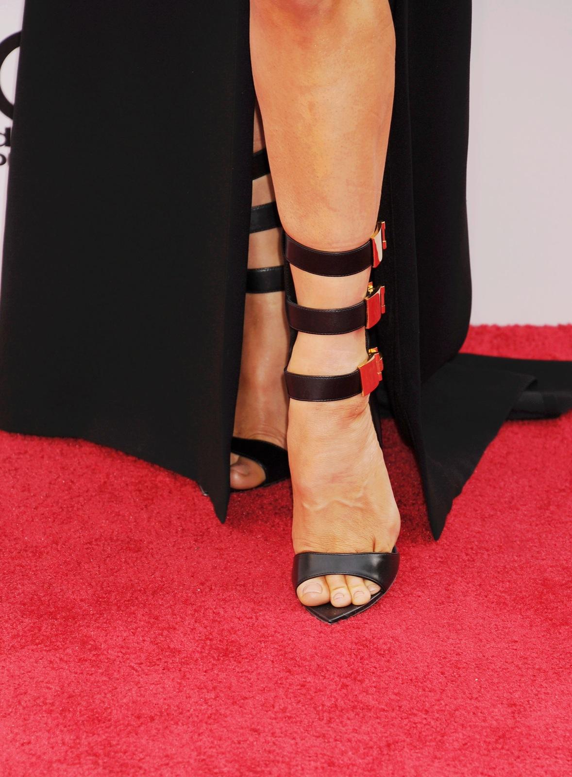 Fergie's shoes. Jeffrey Mayer/WireImage