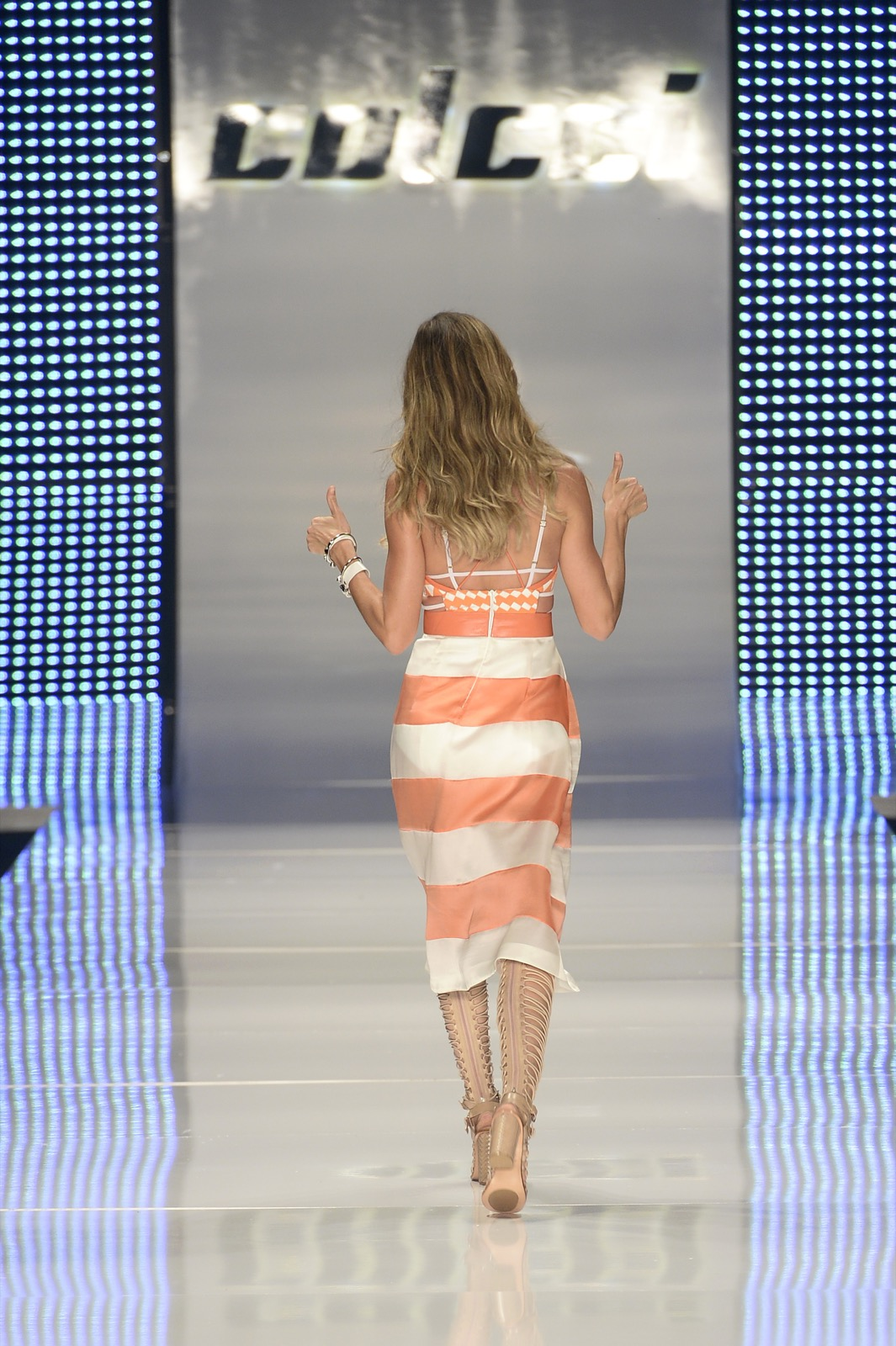 Gisele Bundchen walks the runway during the Colcci show at SPFW Summer 2016 in Sao Paulo, Brazil, Wednesday. Fernanda Calfat/Getty Images