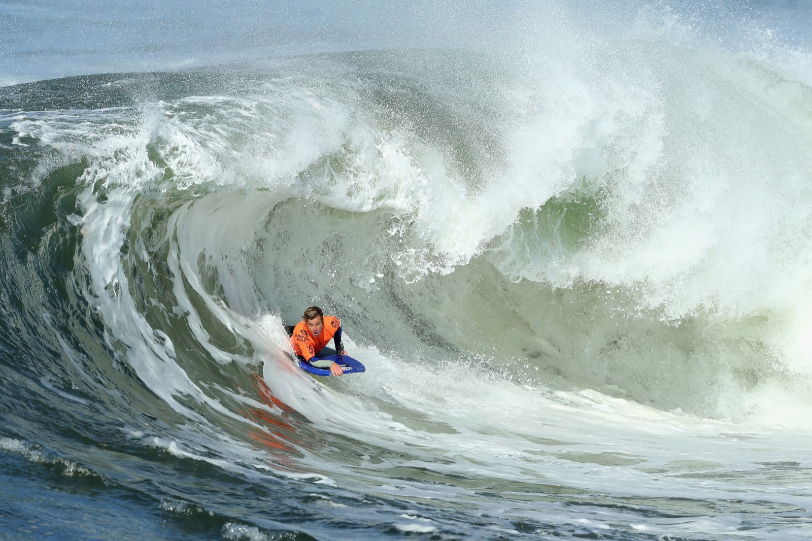 Lachlan Cramsie of Queensland rides a wave. Cameron Spencer/Getty Images