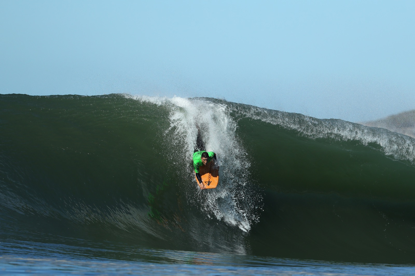Winston McCall of New South Wales rides a wave. Cameron Spencer/Getty Images