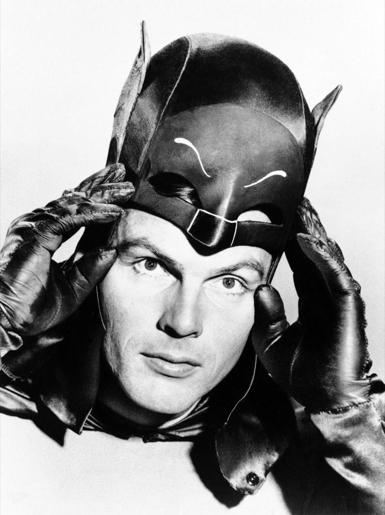 Adam West as Batman, 1966. AP Photo