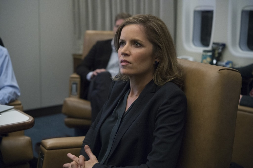 Kim Dickens in House of Cards, Season 3. David Giesbrecht/Netflix