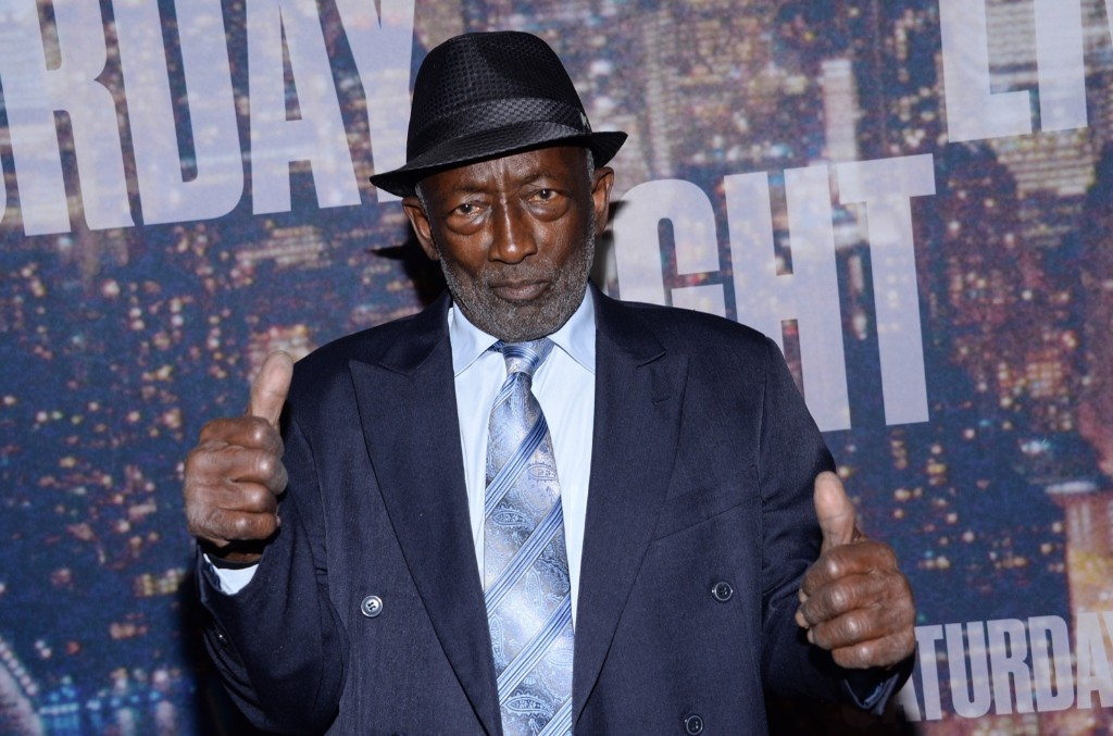Garrett Morris arrives at the SNL 40th Anniversary Special, Sunday, in New York. Evan Agostini/Invision/AP