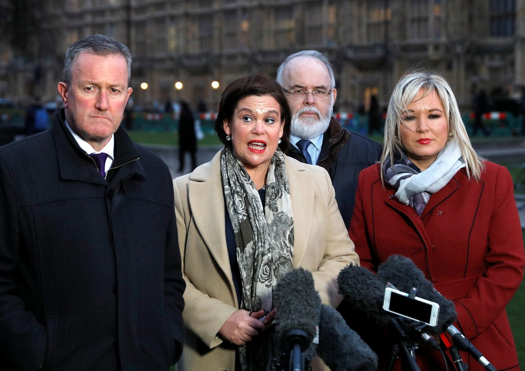 Sinn Fein leader says UK does not have plan for restoring Northern Ireland's government