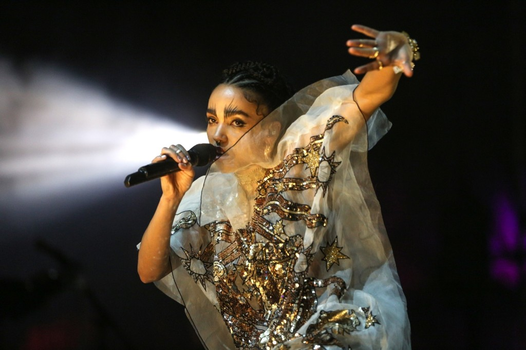 FKA twigs on Saturday. Rich Fury/Invision/AP
