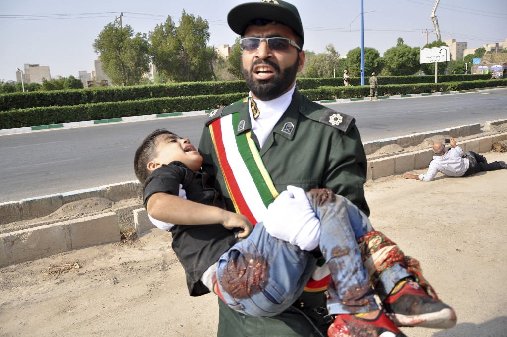 Boy wounded in Iran parade attack has died