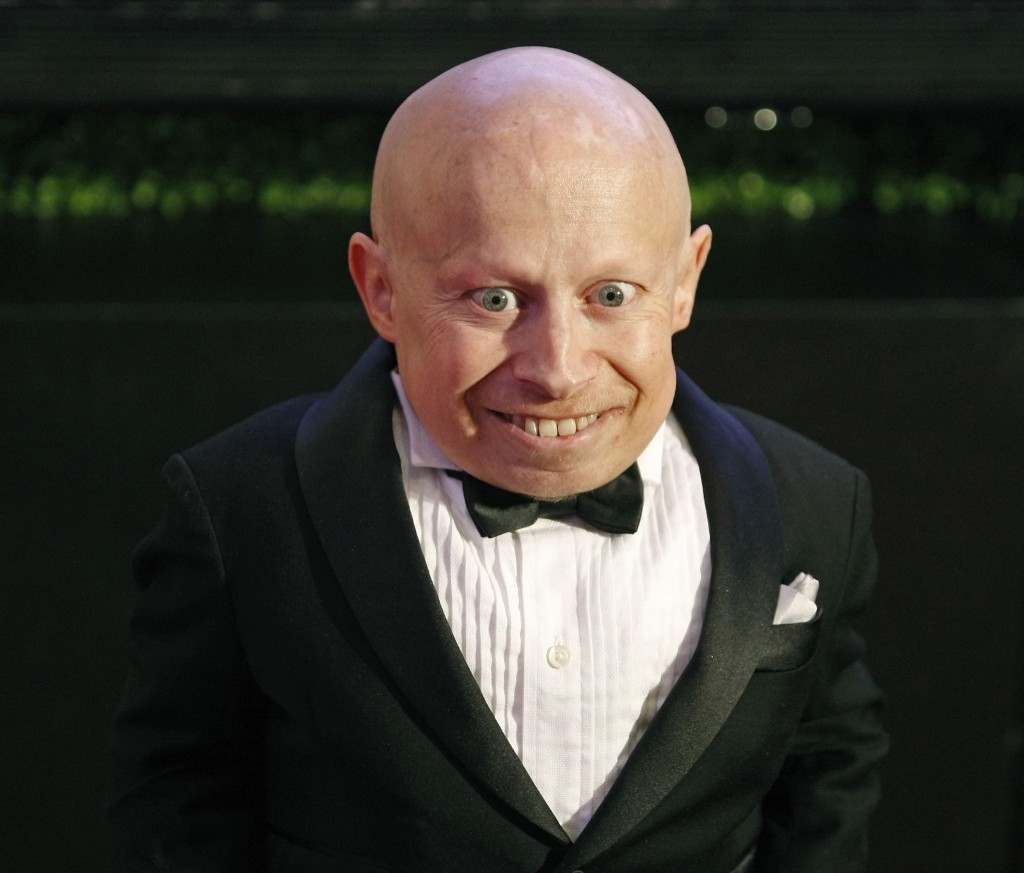 Verne Troyer in 2013. REUTERS/Ralph Freso