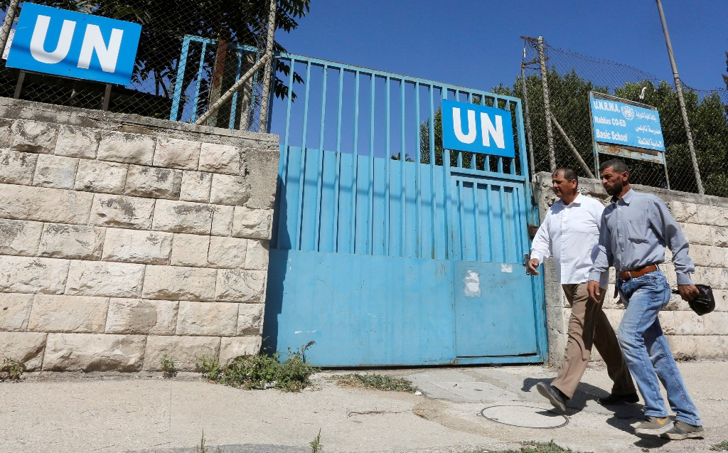 UNRWA says its schools for Palestinian refugees to open on time despite U.S. funding cut
