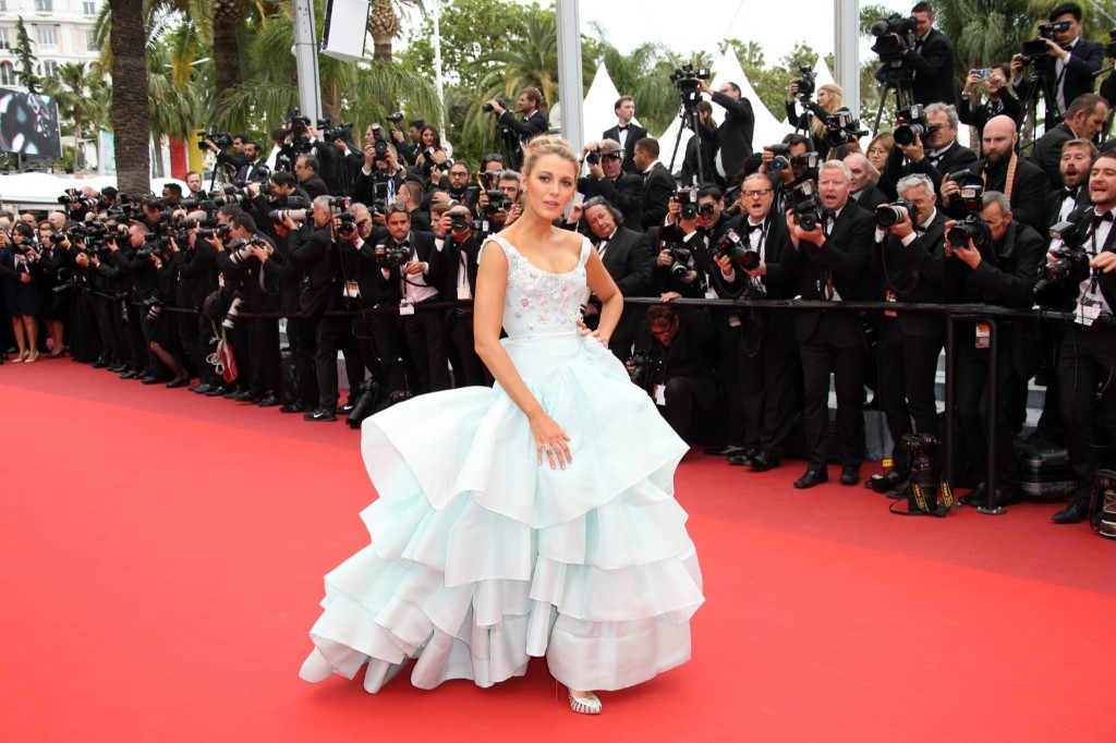 Blake Lively upon arrival at the screening of the film Ma Loute (Slack Bay) at the 69th international film festival in Cannes. AP Photo/Joel Ryan