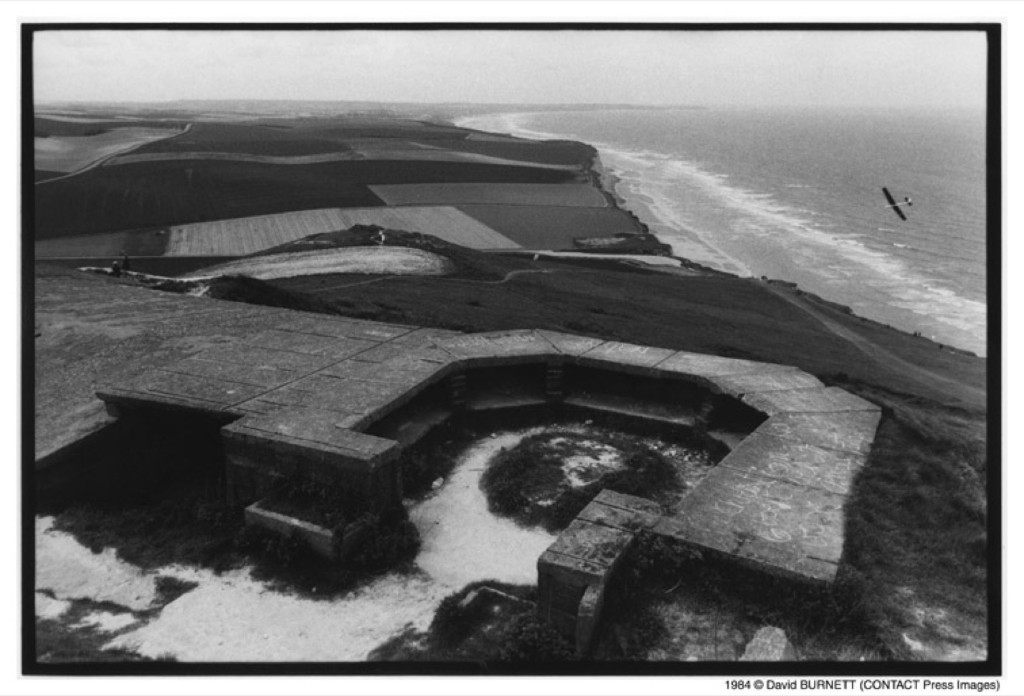 Bunkers remaining from the 'Atlantic Wall' built during the German occupation, Cap Blanc-Nez, Normandy, 1994. David Burnett/Contact Press Images