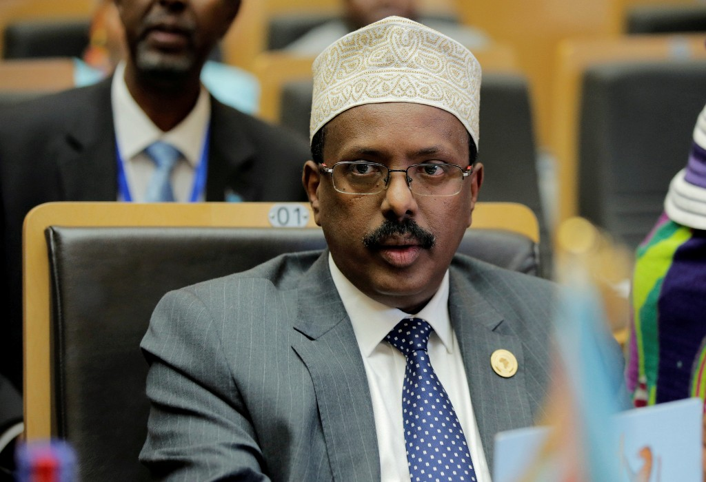 Somali president names new military chief in security services revamp