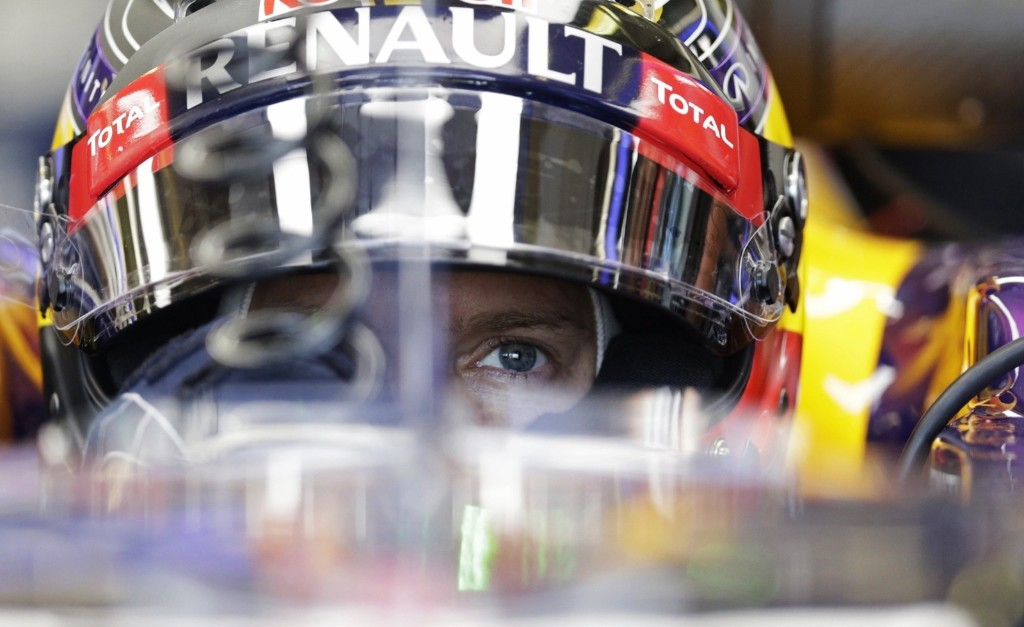 Formula One driver Sebastian Vettel of Germany at the Hungarian Grand Prix. REUTERS/David W Cerny