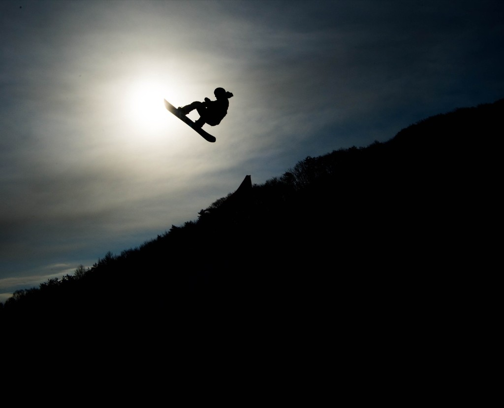 Red Gerard of the U.S. during men's slopestyle final at Pheonix Snow Park. The 17-year-old won the gold medal. David Ramos/Getty Images