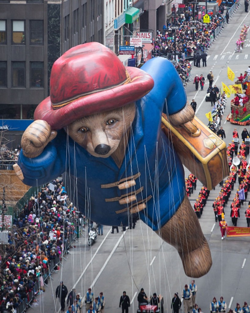 Paddington Bear outside Macy's Department Store. Ben Hider/Getty Images