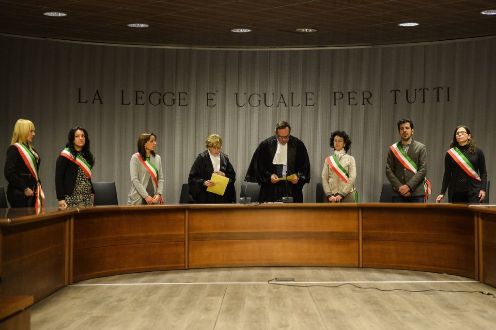 The Court of Assizes of Appeal in Florence. ANDREAS SOLARO/AFP/Getty Images