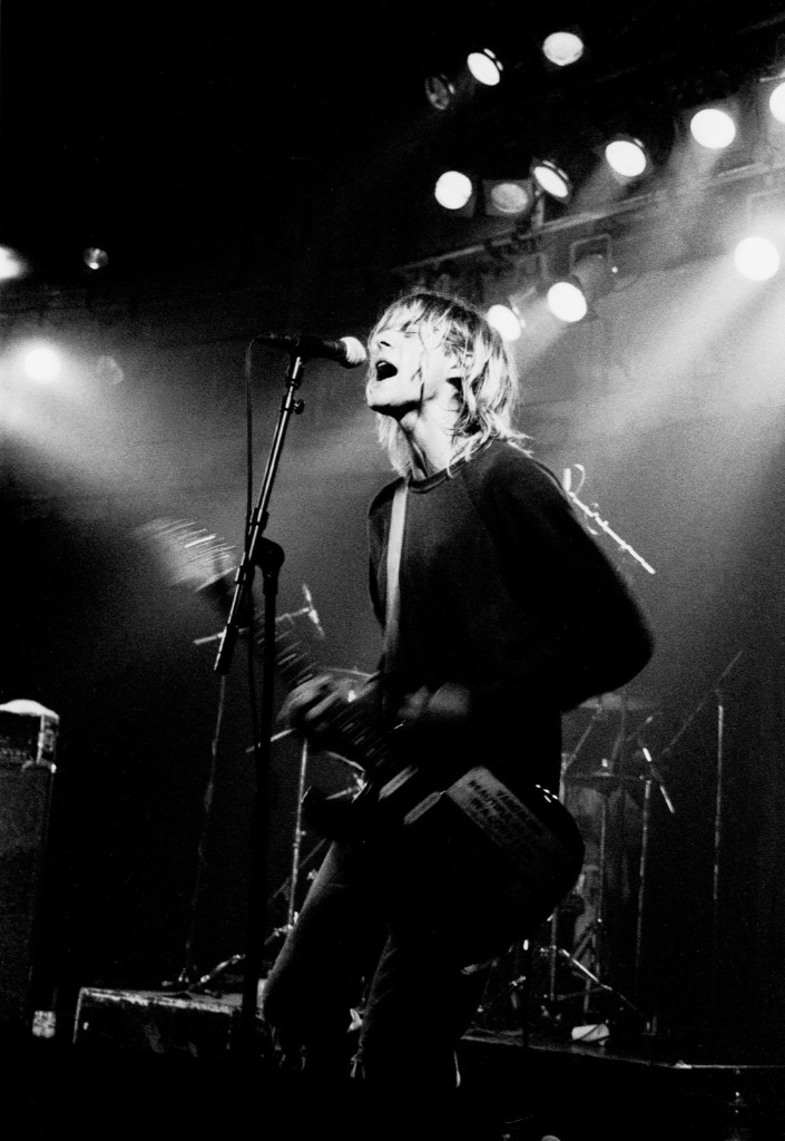 Nirvana at Paradiso in Amsterdam, 1991. Peter Pakvis/Redferns