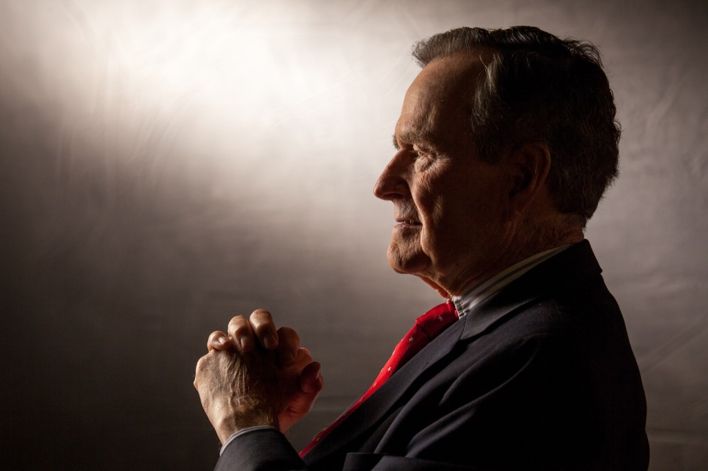 George H.W. Bush in 2011. David Hume Kennerly/Getty Images