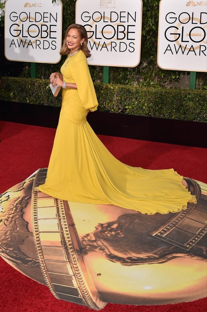 Jennifer Lopez arrives at the Beverly Hilton Hotel. Jordan Strauss/Invision/AP