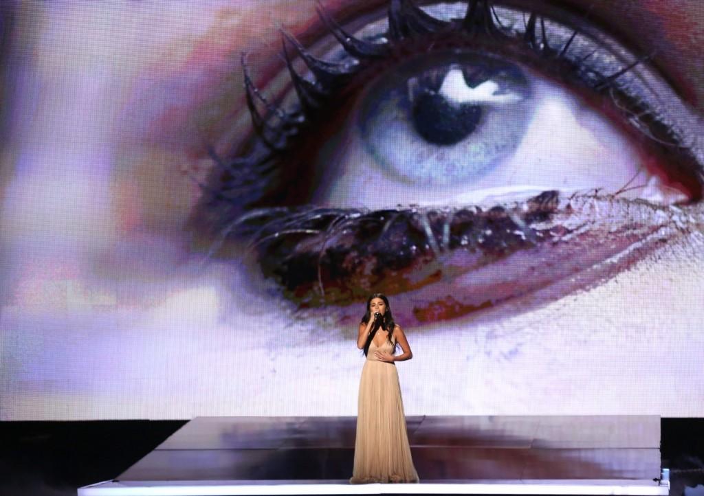 Selena Gomez at the AMAs. Matt Sayles/Invision/AP