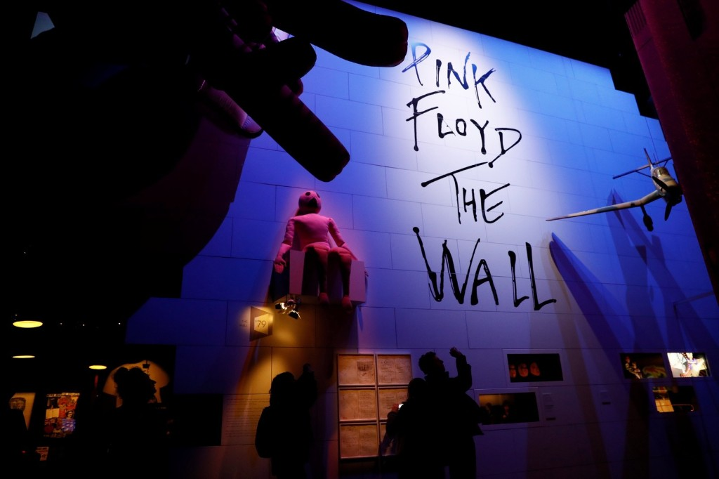 The Pink Floyd Exhibition: 'Their Mortal Remains' at the V&A Museum in London. REUTERS/Stefan Wermuth