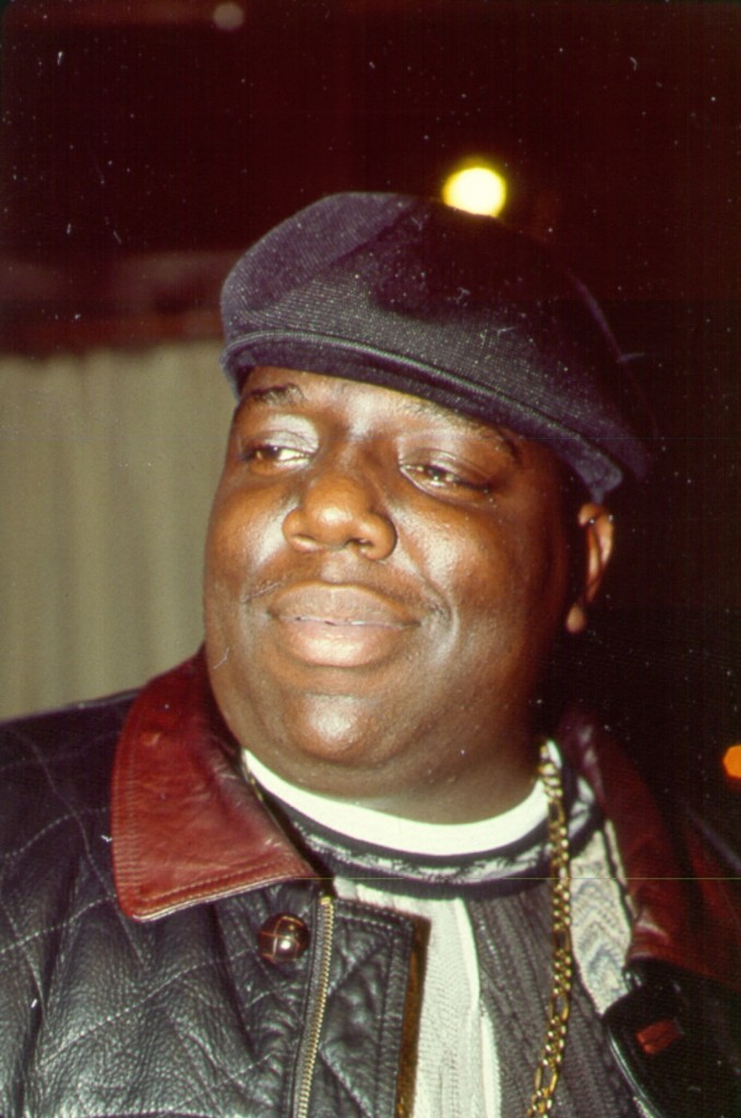 The Notorious BIG attends an event in November 1994 in New York. Al Pereira/Michael Ochs Archives/Getty Images