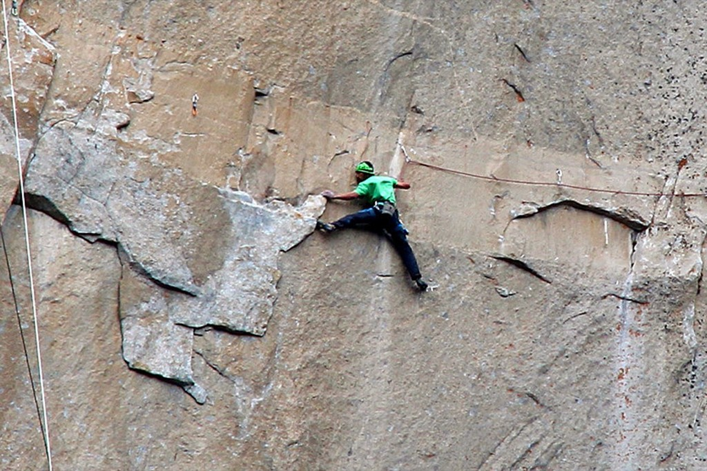 Kevin Jorgeson on pitch 15. AP Photo/Tom Evans/elcapreport