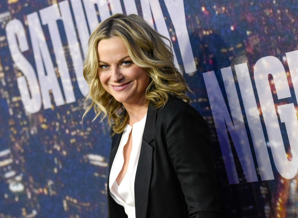 Actress Amy Poehler attends the SNL 40th Anniversary Special, Sunday, in New York. Evan Agostini/Invision/AP