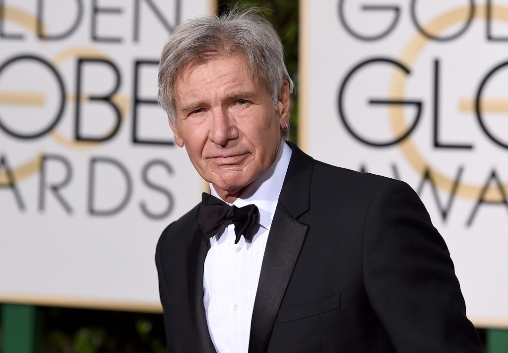 Harrison Ford at the Beverly Hilton Hotel. Jordan Strauss/Invision/AP