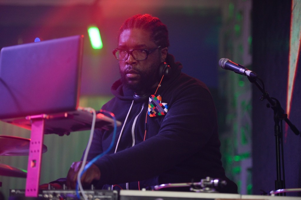 Questlove performs on Saturday. Scott Roth/Invision/AP