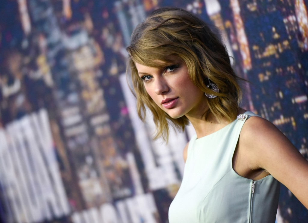 Taylor Swift attends the SNL 40th Anniversary Special, Sunday, in New York. Evan Agostini/Invision/AP