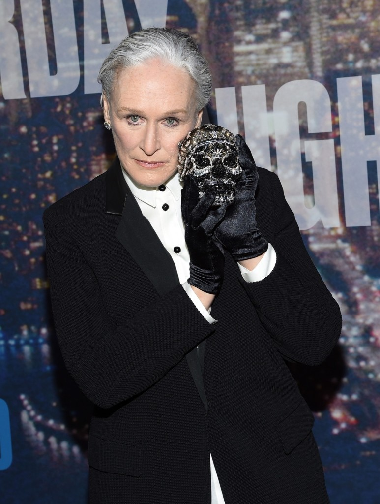 Glenn Close attends the SNL 40th Anniversary Special, Sunday, in New York. Larry Busacca/Getty Images