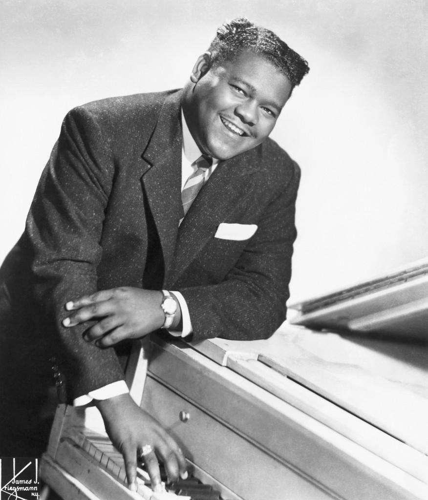 Fats Domino, circa 1956. James Kriegsmann/Michael Ochs Archives/Getty Images