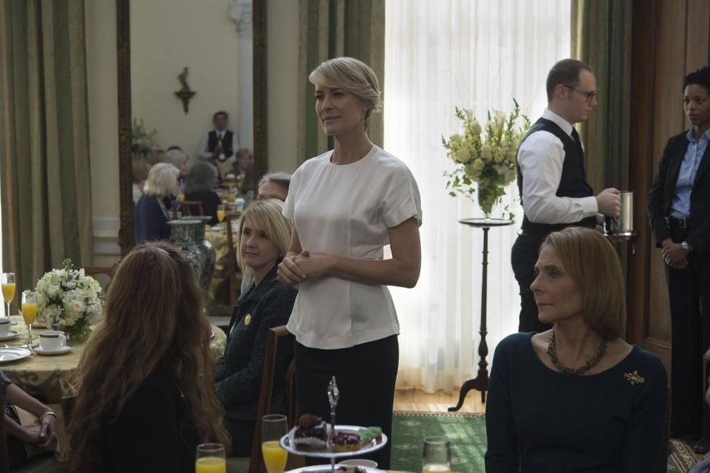 Robin Wright in House of Cards, Season 3. David Giesbrecht/Netflix