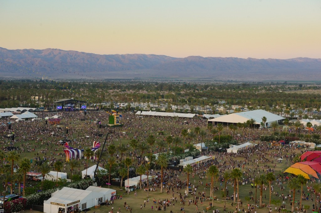 General view of the grounds on Sunday. Scott Roth/Invision/AP