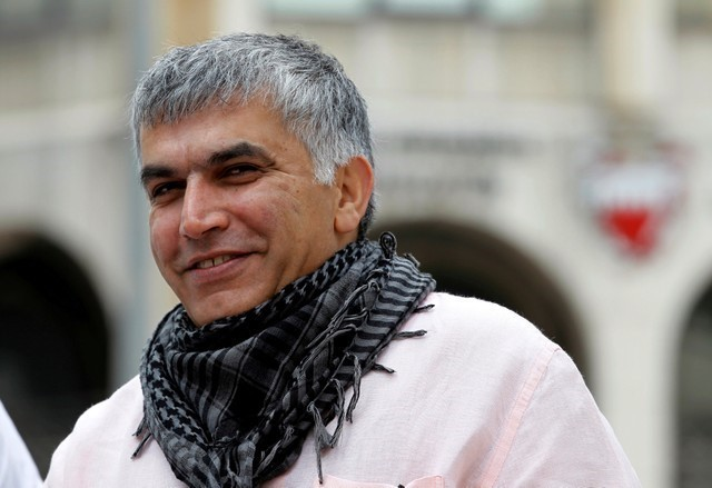 Bahrain jailing of leading campaigner Rajab unlawful