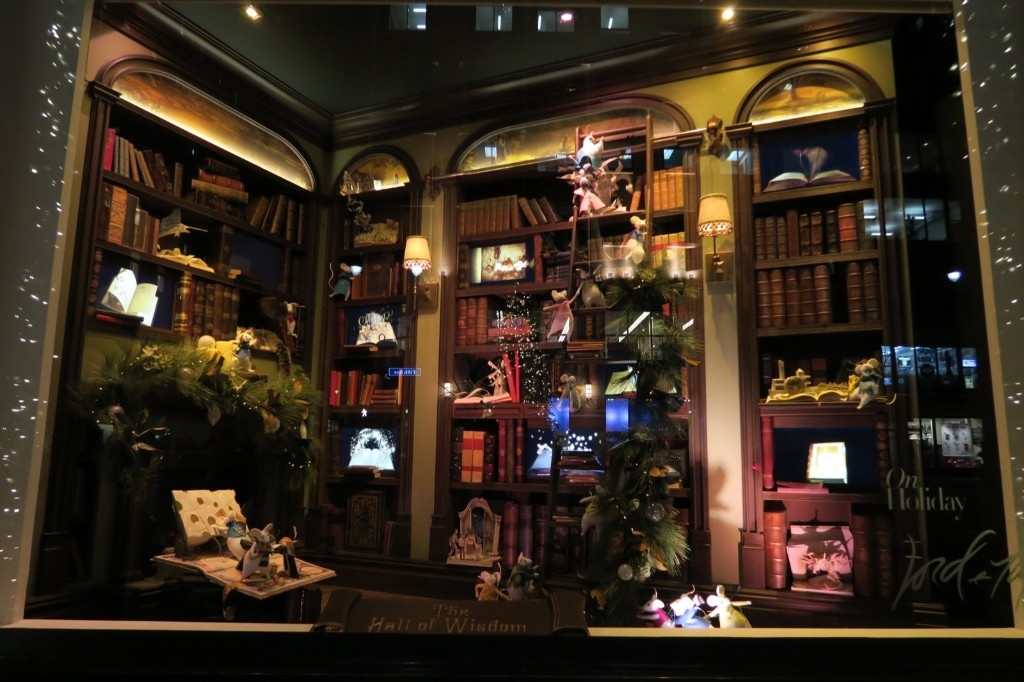"At Lord & Taylor, the ""Hall of Wisdom"" room is stocked with a treasure chest's worth of wonders. Photo by Gary Hershorn"