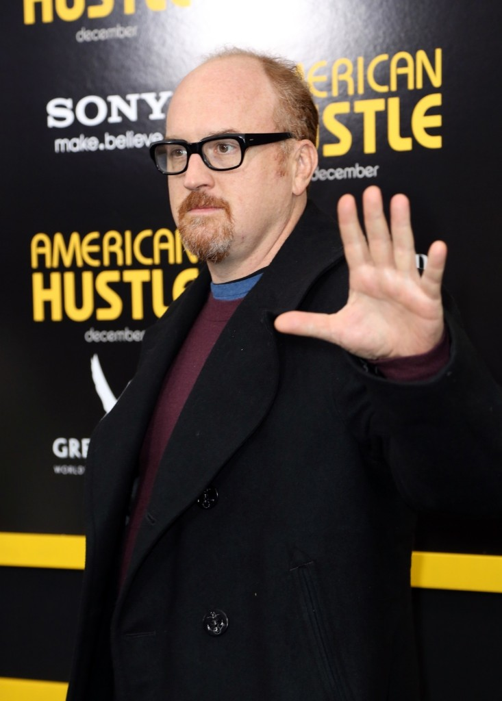 """Louis C.K attends world premiere of """"American Hustle"""" at Ziegfeld Theater in New York. Monica Schipper/Getty Images for Grey Goose"""