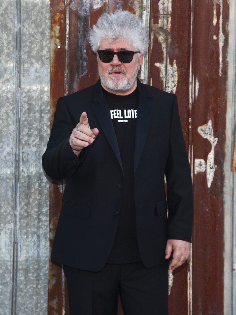 Pedro Almodovar attends the New York Fashion Week Spring/Summer 2016 Givenchy fashion show. Andy Kropa/Invision/AP