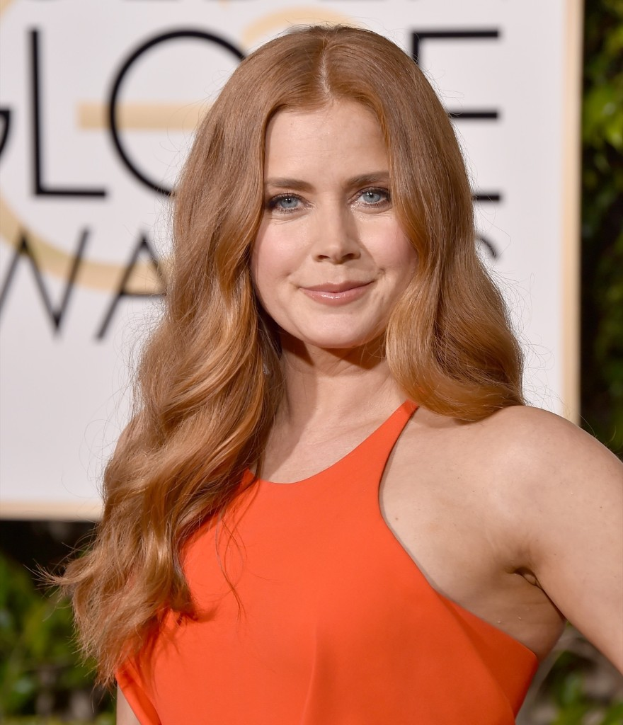 Amy Adams at the 73rd annual Golden Globe Awards. Jordan Strauss/Invision/AP