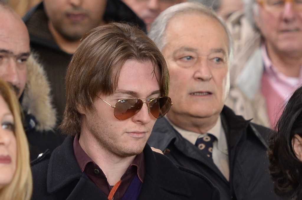 Raffaele Sollecito at his retrial in Florence, Jan. 30, 2014. ANDREAS SOLARO/AFP/Getty Images