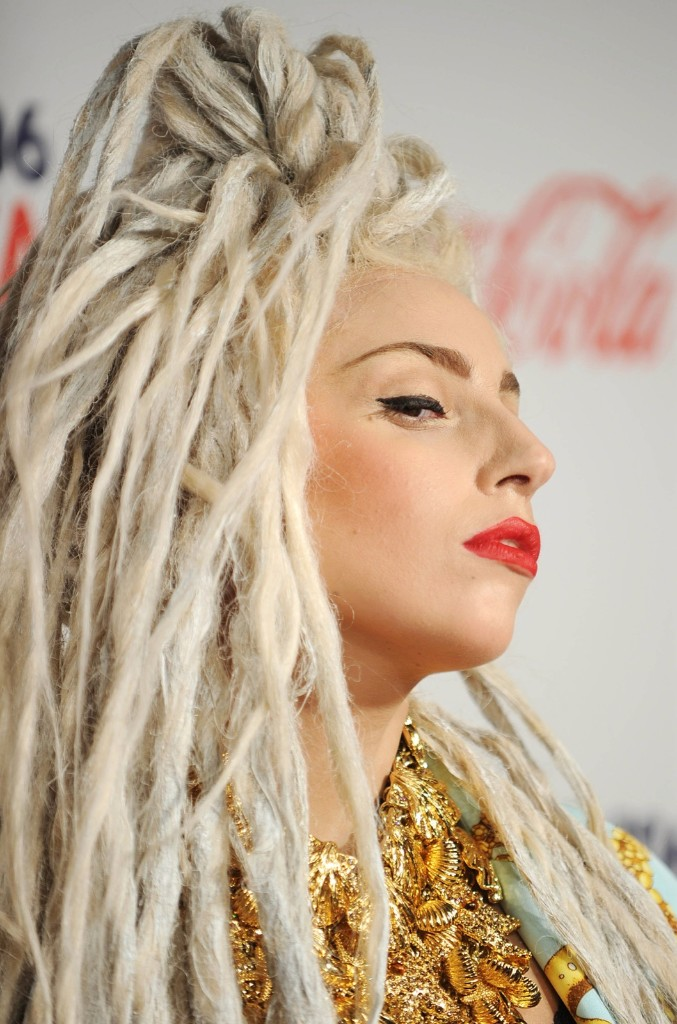 Lady GaGa attends the Capital FM Jingle Bell Ball at the 02 Arena on Sunday in London. Stuart C. Wilson/Getty Images