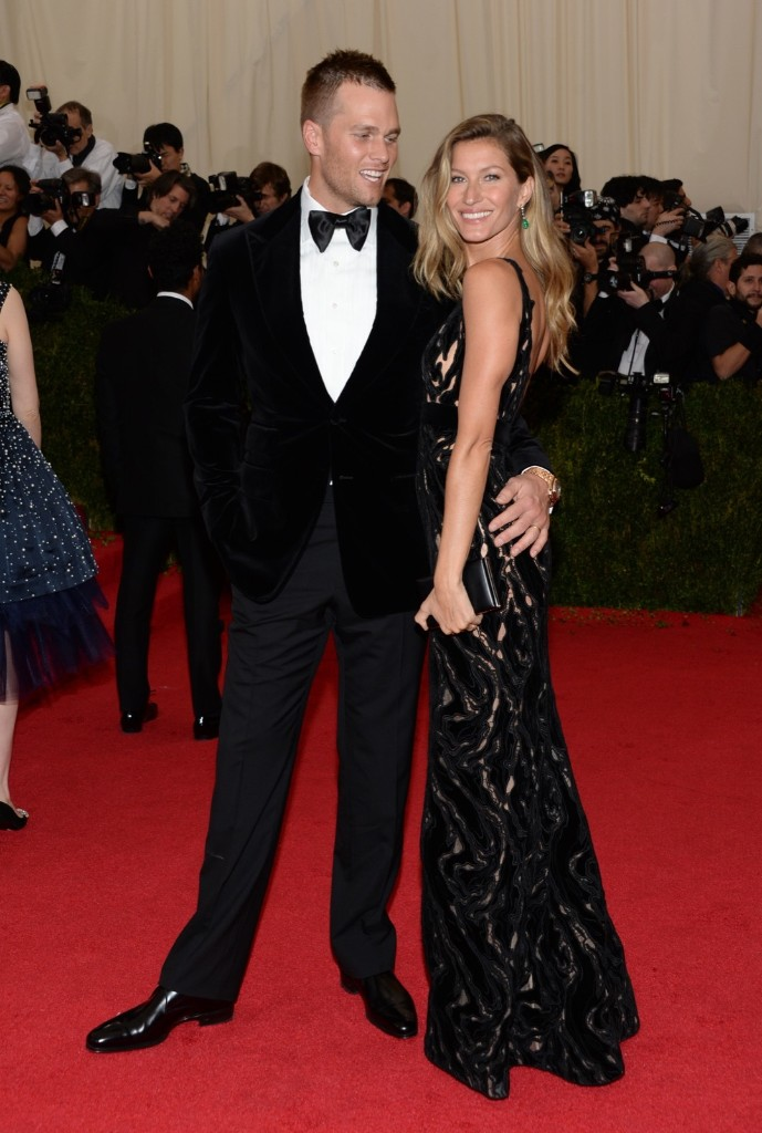 Tom Brady and Gisele Bundchen attend The Metropolitan Museum of Art's Costume Institute benefit gala, May 5, 2014, in New York. Evan Agostini/Invision/AP