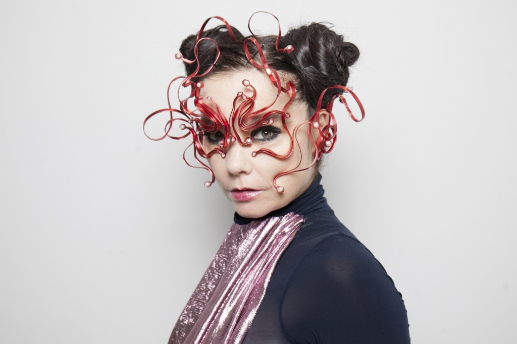 Bjork attends the 'Making of Bjork Digital' at the National Museum of Emerging Science in Tokyo. Santiago Felipe/Getty Images