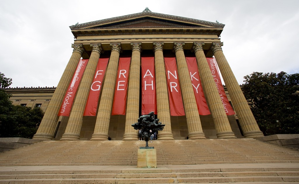 The Philadelphia Museum of Art, a massive renovation project designed by Frank Gehry. AP Photo/Matt Rourke