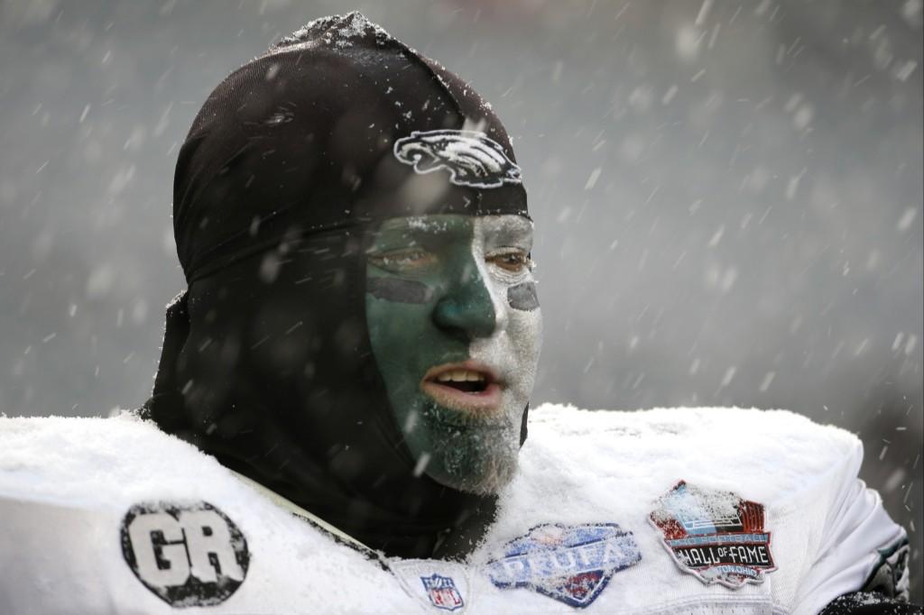 Eagles fan at Lincoln Financial Field. AP Photo/Matt Rourke