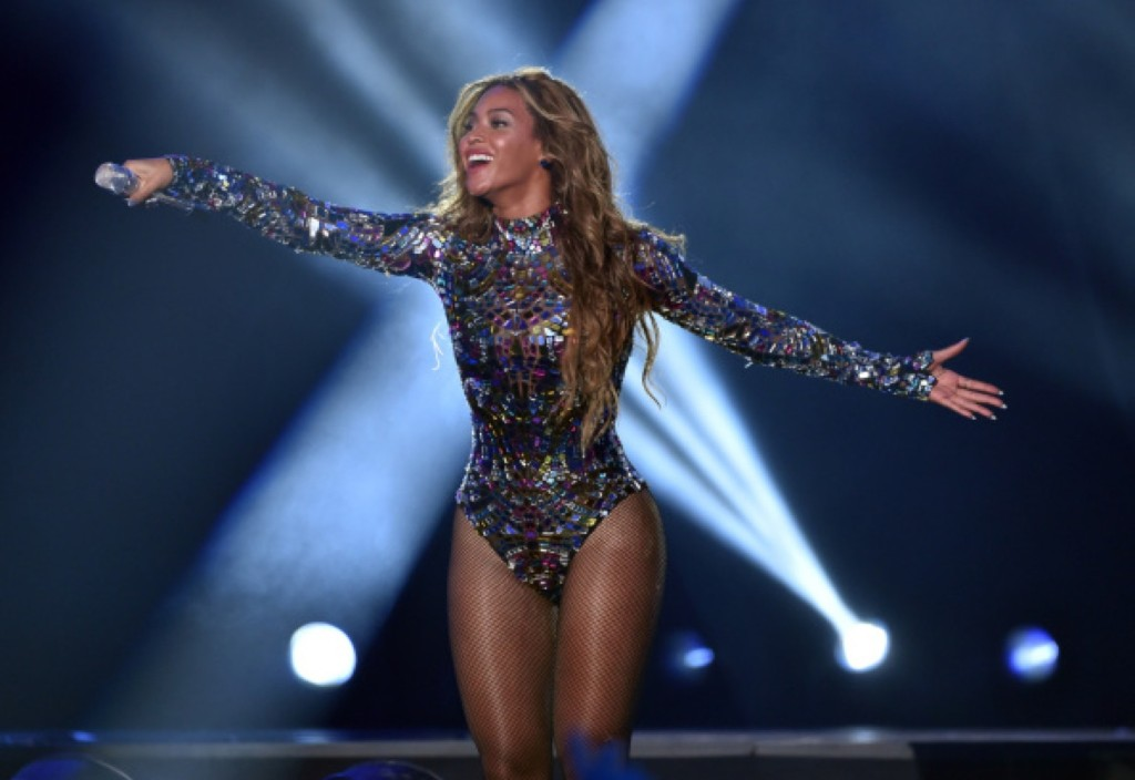 Beyonce performs. Photo by Kevin Winter/Getty Images for MTV