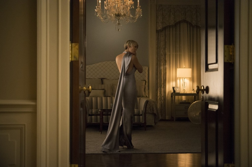 Robin Wright in House of Cards, Season 3. David Giesbrecht/Netflix