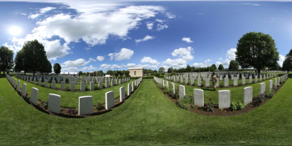 The British Bayeux War Cemetery in Bayeux, France. Christopher Furlong/360/Getty Images