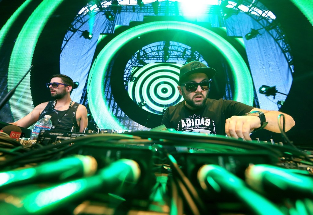 DJ Gramatik during day 2. Christopher Polk/Getty Images
