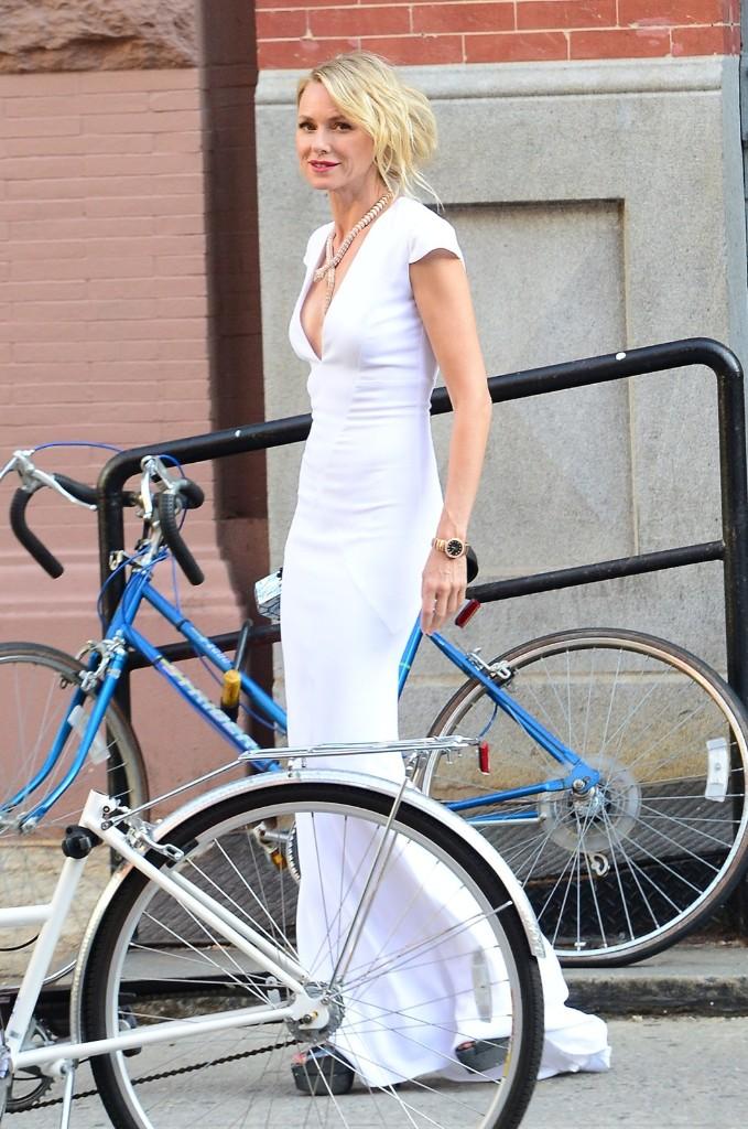Naomi Watts in New York, Soho. Raymond Hall/GC Images